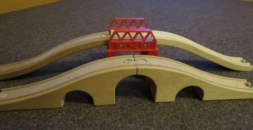 mosty dřevěné vláčky