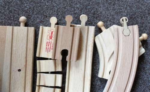 dřevěné koleje - srovnání