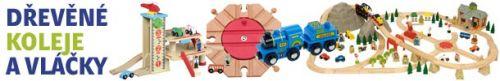 dřevěné vláčky A-toys