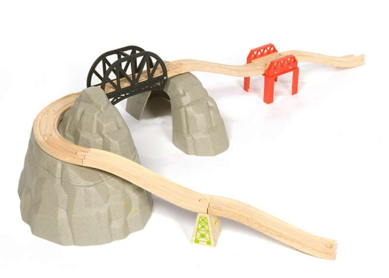 BigJigs Sada hora - dřevěná vláčkodráha