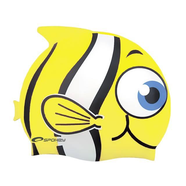 ČEPICE DO VODY PRO DĚTI - žlutá Rybka Spokey