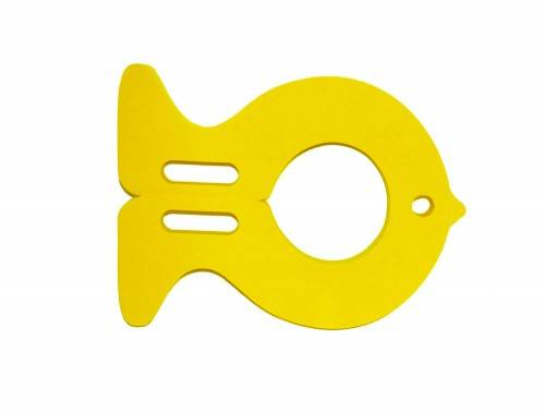 Plavecká deska RYBA žlutá Aronet
