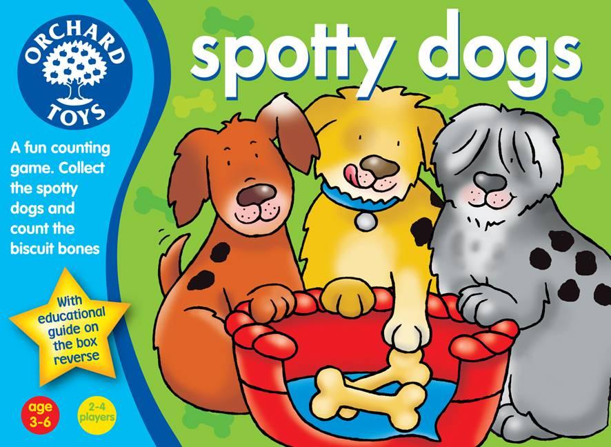 hra PUNTÍKATÍ PEJSCI (Spotty Dogs) ORCHARD TOYS