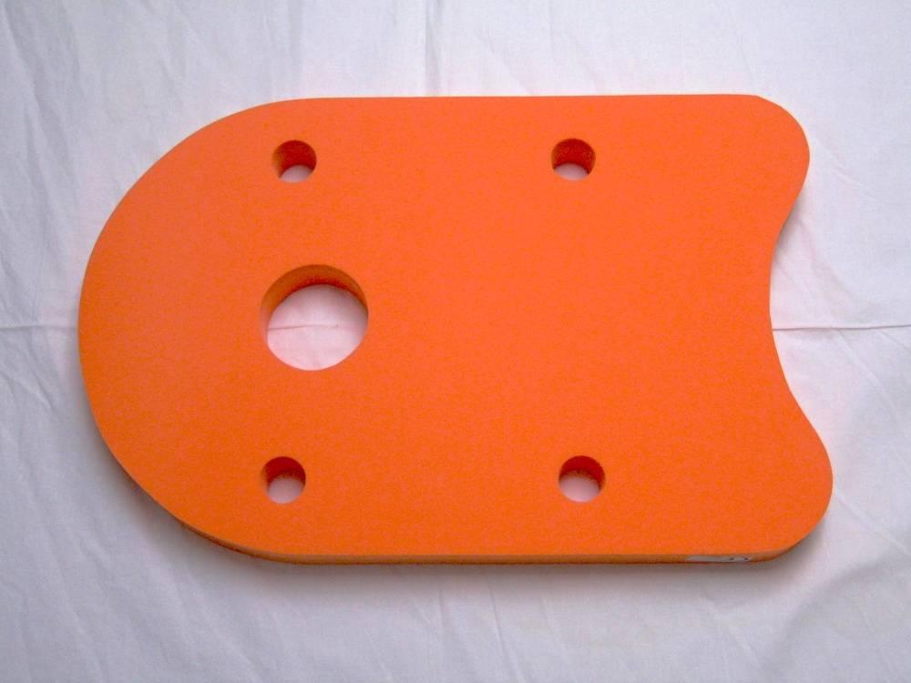 Plovák DENA 48x30 - oranžový