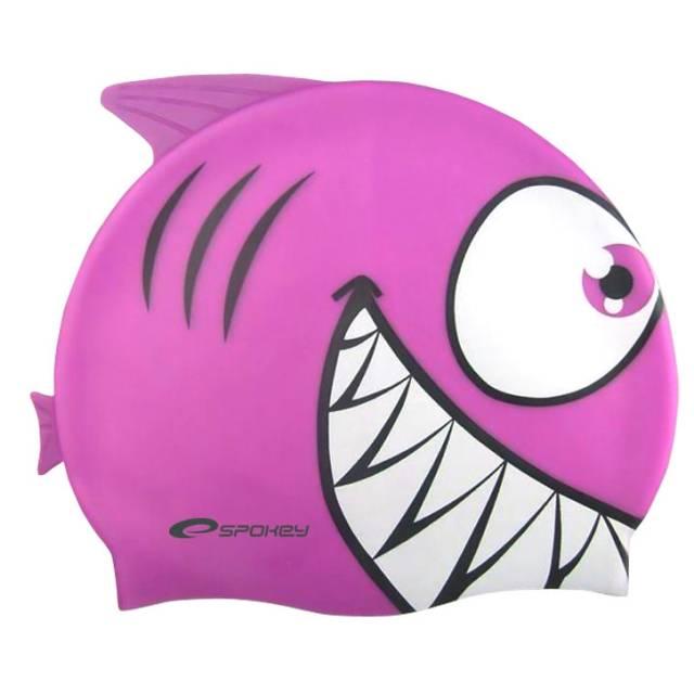 PLAVECKÁ ČEPICE - Žralok fialový Spokey