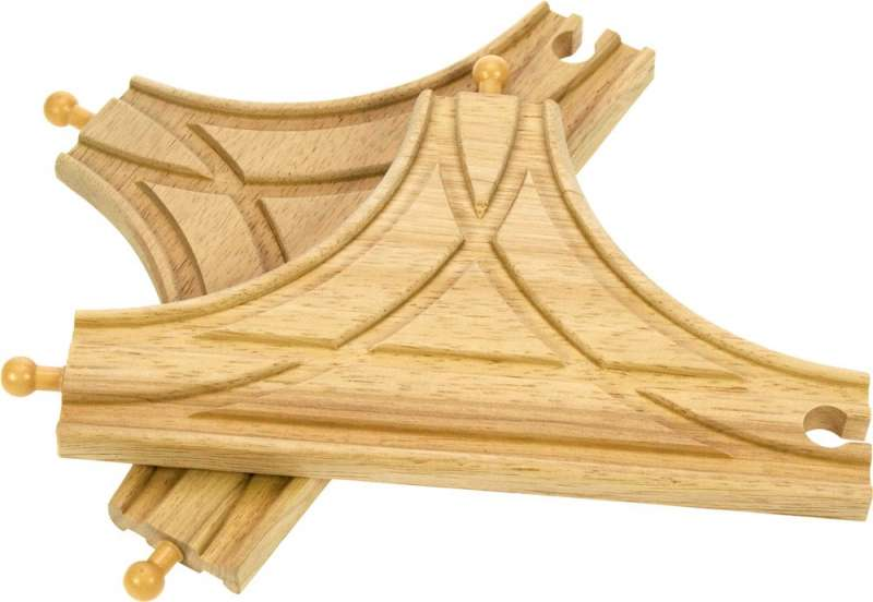 T spojka 2 ks - dřevěné koleje BigJigs BIGJIGS