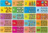 výukové puzzle - ČÍSLA, POČÍTÁNÍ