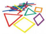 Anglegs - geometrická stavebnice TYČINKY (49 ks)