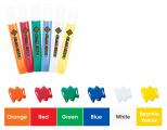 Barvičky na sklo - sada se sklíčky 6 ks DOPRAVA Amos
