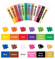 Barvy na sklo - sada 12 kusů Amos