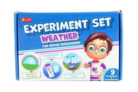Experimenty pro školáky - s počasím