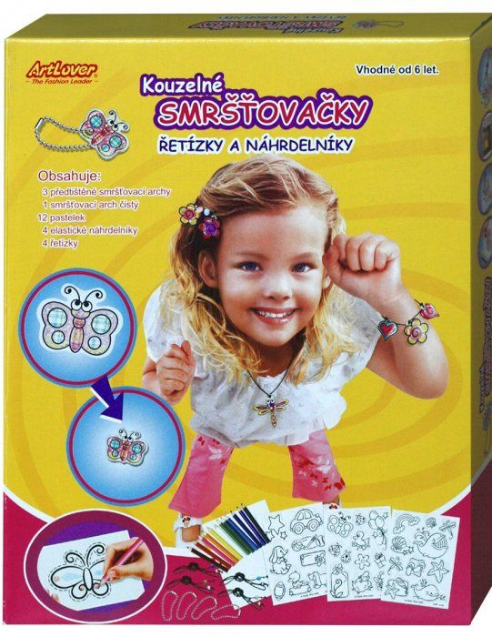 Kouzelné smršťovačky - řetízky a náhrdelníky v krabici
