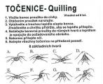 Papírová točenice - quilling
