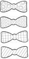Party set tvoření pro 4-12 dětí - kravaty, brýle, motýlky