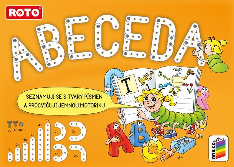 Roto Stavebnice ABC - abeceda skládačka písmen