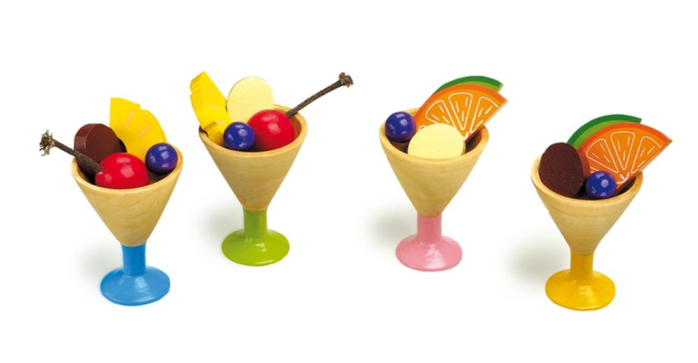 Zmrzlinový pohár - sada 4 ks Legler