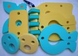 Plavecké pomůcky - tip na kombinace značka Dena - barva žlutá, zelená