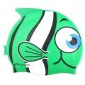 PLAVECKÁ ČEPICE - zelená Rybka