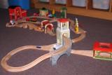 Dřevěné vláčky - inspirace Sestava 1 - detail