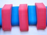 PLAVECKÝ PÁS 130 cm - červeno-modrá