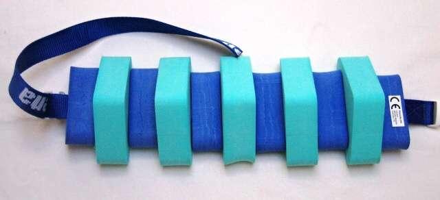 PLAVECKÝ PÁS 100 cm - zelená-modrá DENA