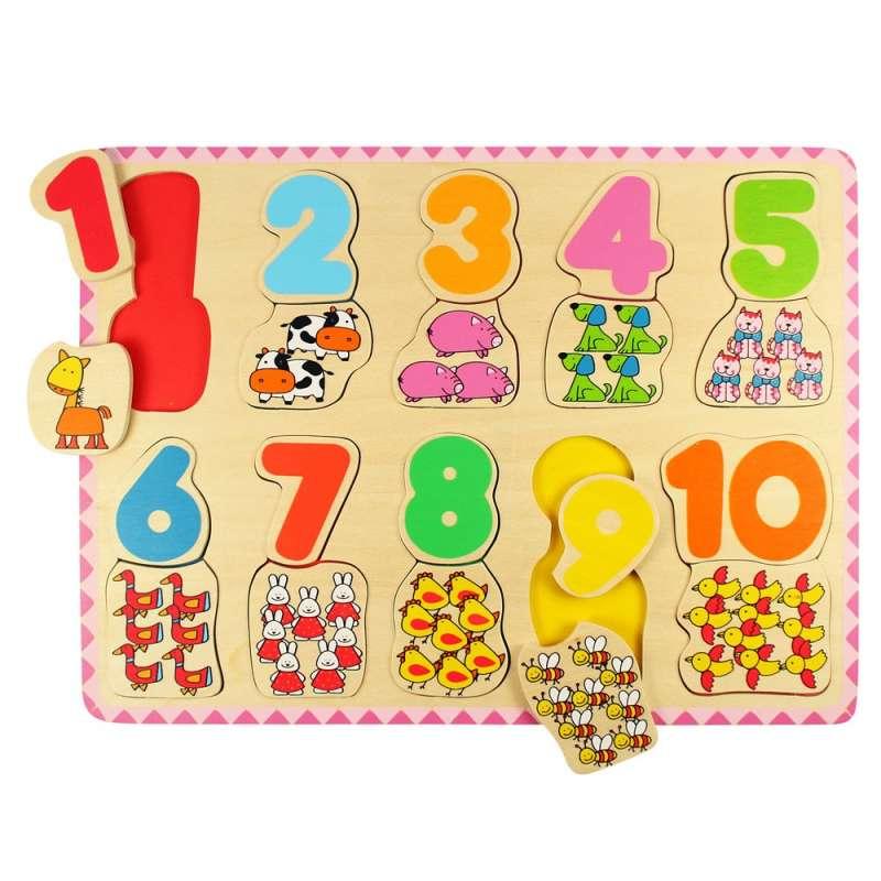 Puzzle s čísly BIGJIGS
