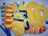 Plavecká deska BABY MEDVIDEK - žlutý DENA