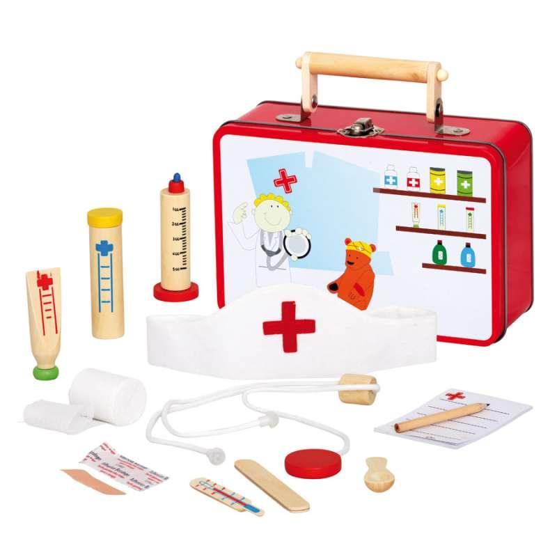 Zvěrolékařský kufřík - sada doktorka BINO