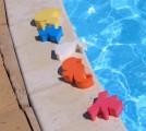 Plovoucí hračky -  ZVÍŘÁTKA MIX (3 cm tlusté)