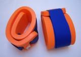Nadlehčovací rukávky - oranžové s modrým