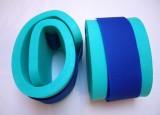 Nadlehčovací rukávky - zelené s modrým DENA