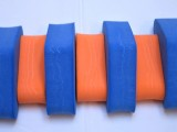PLAVECKÝ PÁS 100 cm - modrá-oranžová