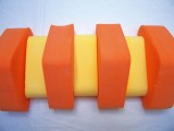 PLAVECKÝ PÁS 100 cm - oranžová-žlutá