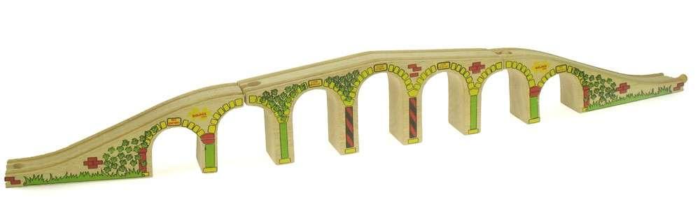 BigJigs - Dlouhý železniční most, viadukt