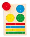 Didaktická hračka - zlomky