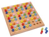 Dřevěné sudoku pro děti