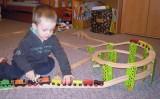 Dřevěné vláčky - inspirace Mašinky se serpentýnou :-)