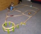 Dřevěné vláčky - inspirace Serpentýna, výhybky, spojky... :-)
