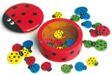 Hra BERUŠKY - počítání, barvičky, blechy