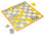 Hra kočka a myš (dáma pro děti)