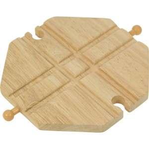 BigJigs, Křižovatka jednoduchá - dřevěné koleje BIGJIGS