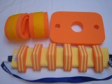 Nadlehčovací rukávky - oranžové se žlutým DENA
