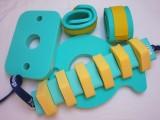 Nadlehčovací rukávky - zelené se žlutým DENA