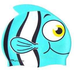 DĚTSKÁ KOUPACÍ ČEPICE - tyrkysová Rybka Spokey