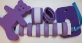 Plavecké pomůcky - tip na kombinace fialovo-bílá kombinace