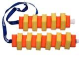 PLAVECKÝ PÁS 100 cm - žlutá-oranžová DENA