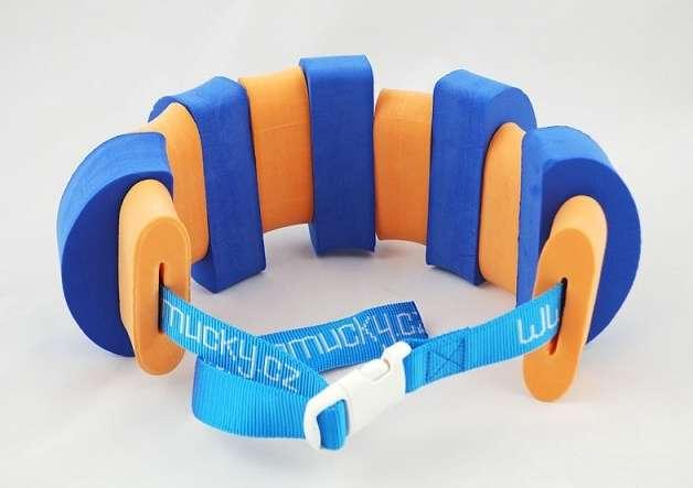 PLAVECKÝ PÁS (11 dílků) - modro-oranžový Aronet