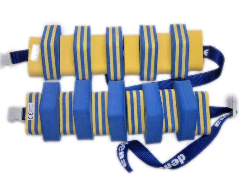 PLAVECKÝ PÁS PRUh - modrá-žlutá 11 dílků DENA