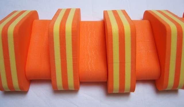 PLAVECKÝ PÁS PRUH - oranžová-žlutá 11 dílků DENA