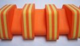 PLAVECKÝ PÁS PRUHOVANÝ - oranžová-žlutá 13 dílků